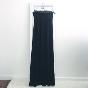 ☆Papaya • Strapless maxi dress